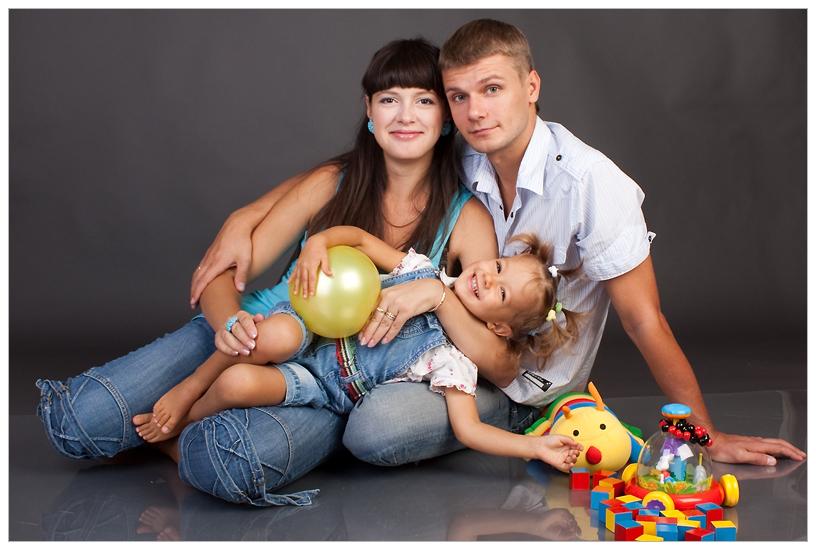 Семейная фотосессия примеры фото